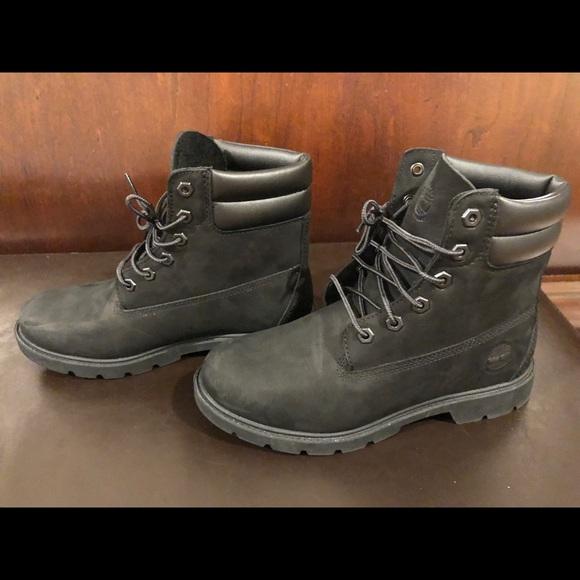 b4a5e0ffee4 Timberland Shoes - Timberland Women s Black Boot - 8 - Linden Woods